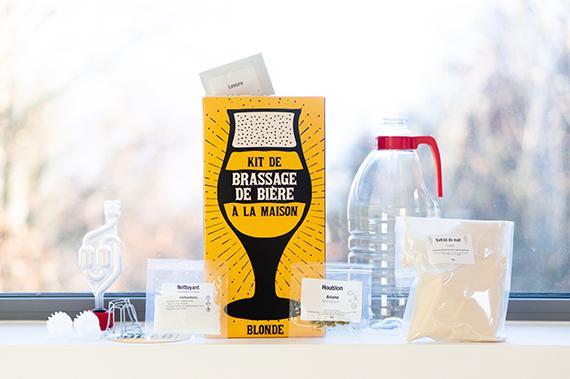 Kit de brassage bière blonde