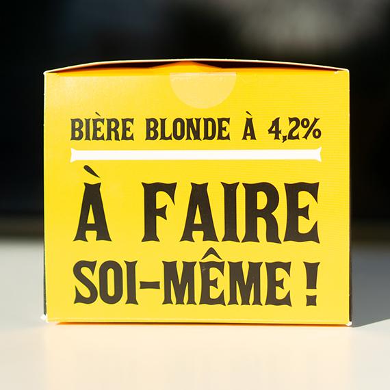 Bière blonde à brasser