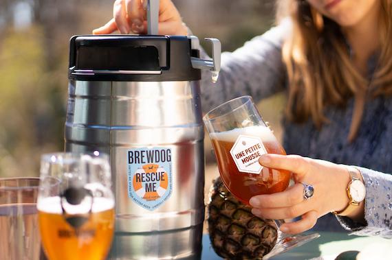 bière mini-fût autonome