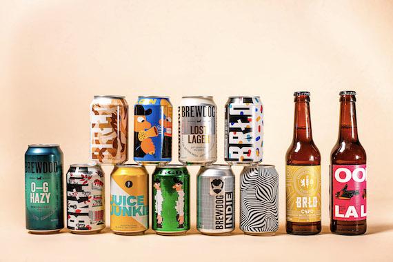 Bières Artisanales Brewdog, Mikkeller, Brussels Beer Project et BRLO