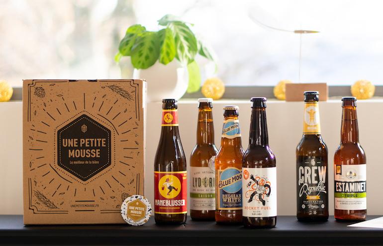 Parcours d'initiation à la bière artisanale en 3 box mensuelles