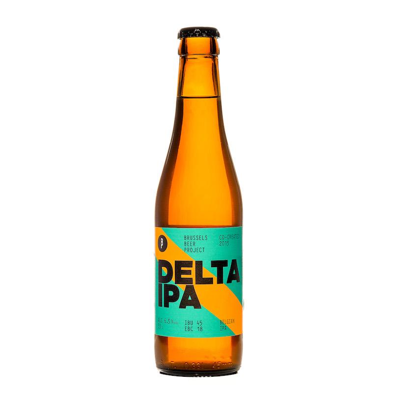 Bière Delta IPA - Brasserie Brussels Beer Projet