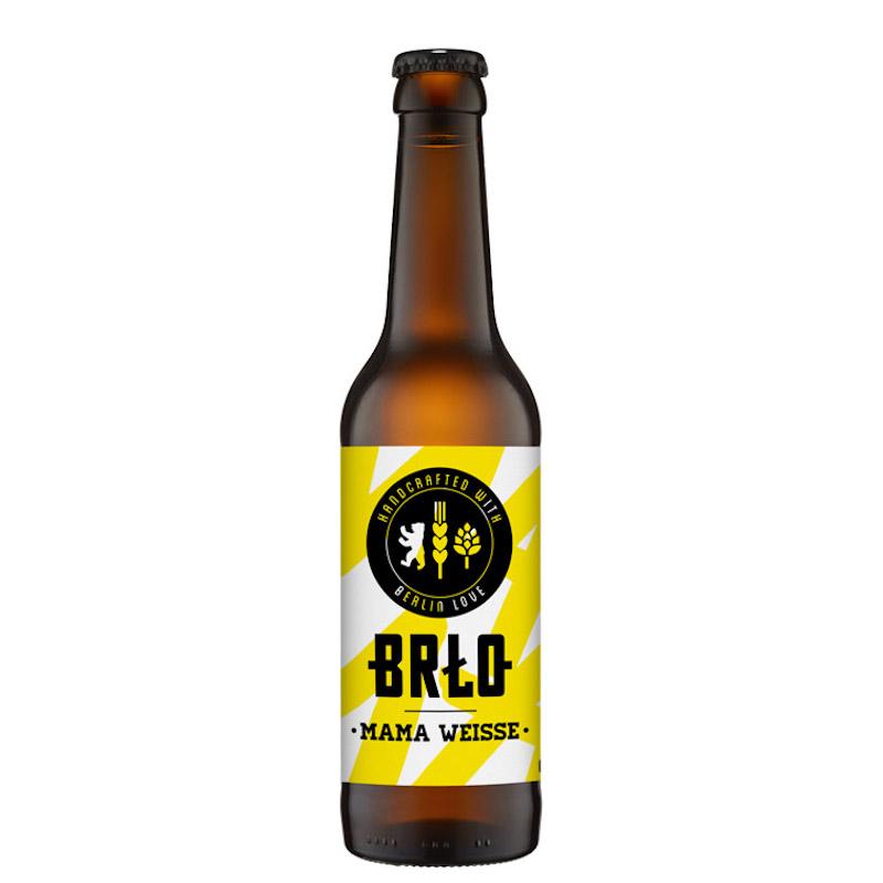 Bière Mama Weisse - Brasserie BRLO
