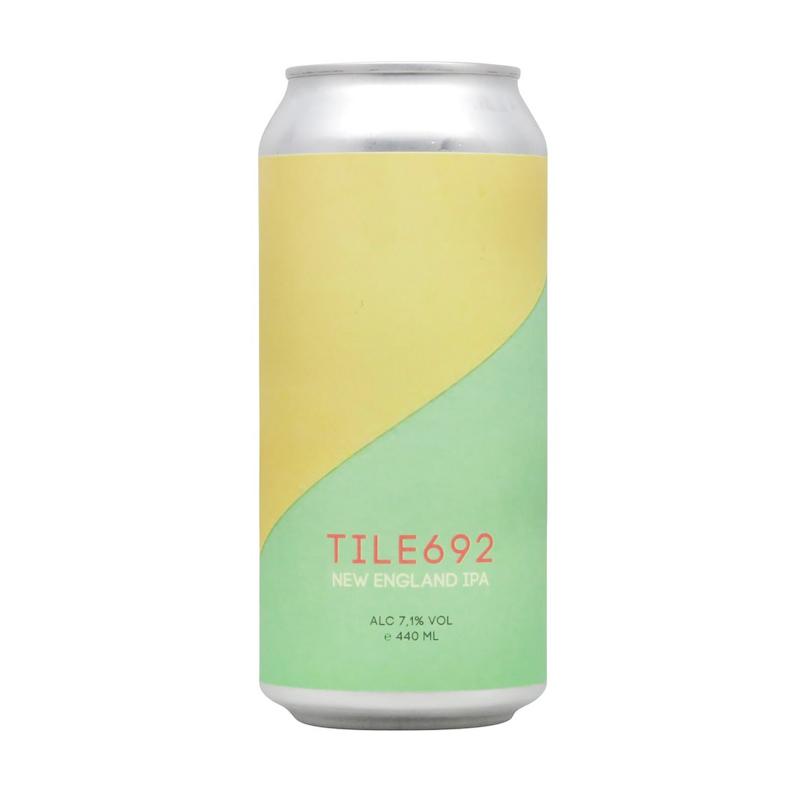 Bière Tile 692 - Brasserie BlechBrut
