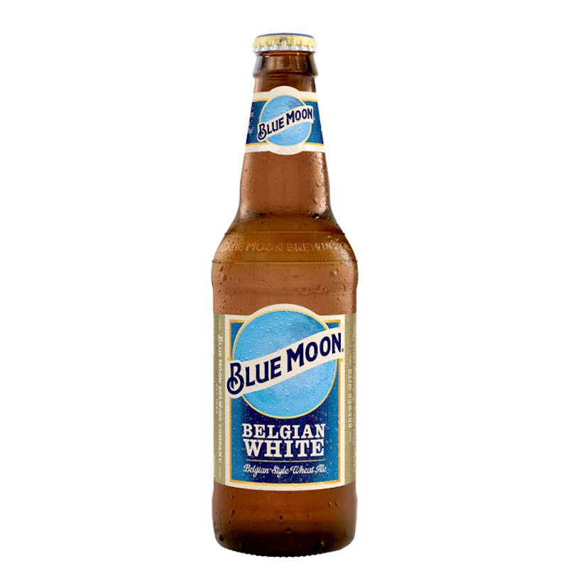 Bière Belgian White - Brasserie Blue Moon
