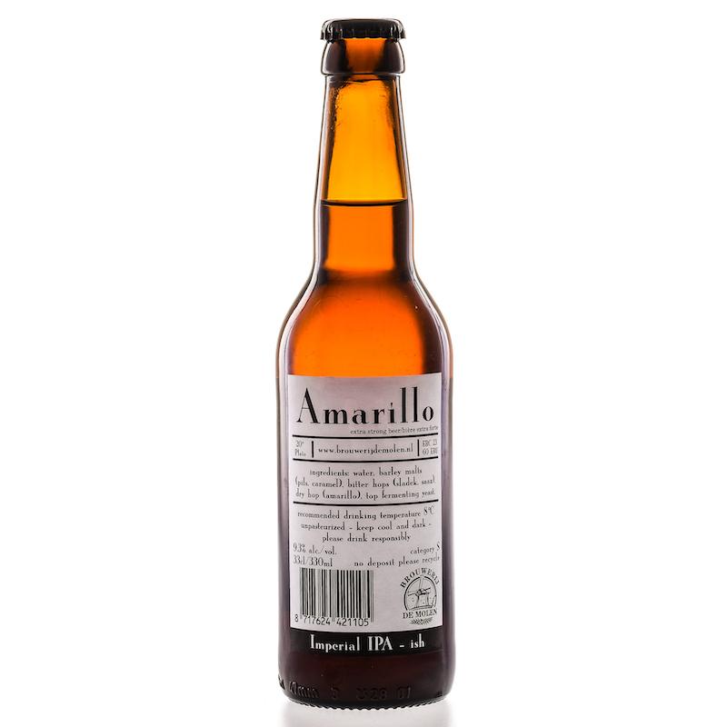 Bière Amarillo - Brasserie De Molen