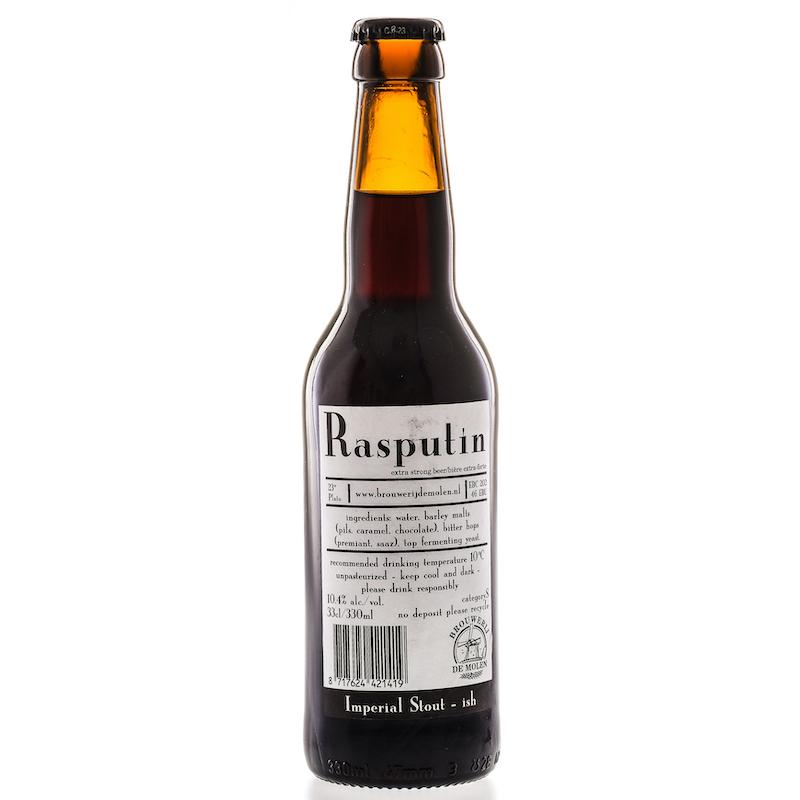 Bière Rasputin - Brasserie De Molen