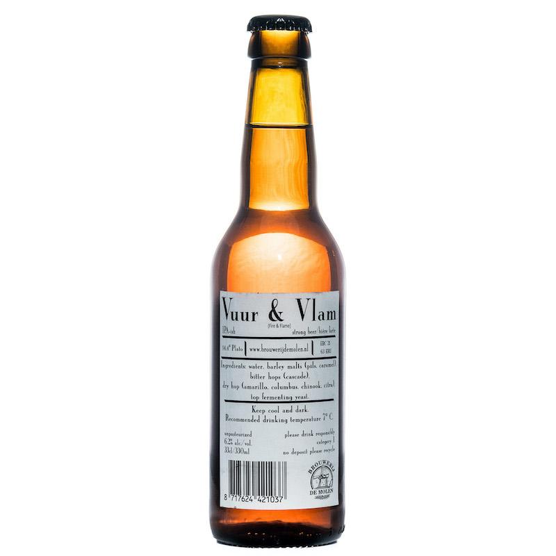 Bière Vuur and Vlam - Brasserie De Molen