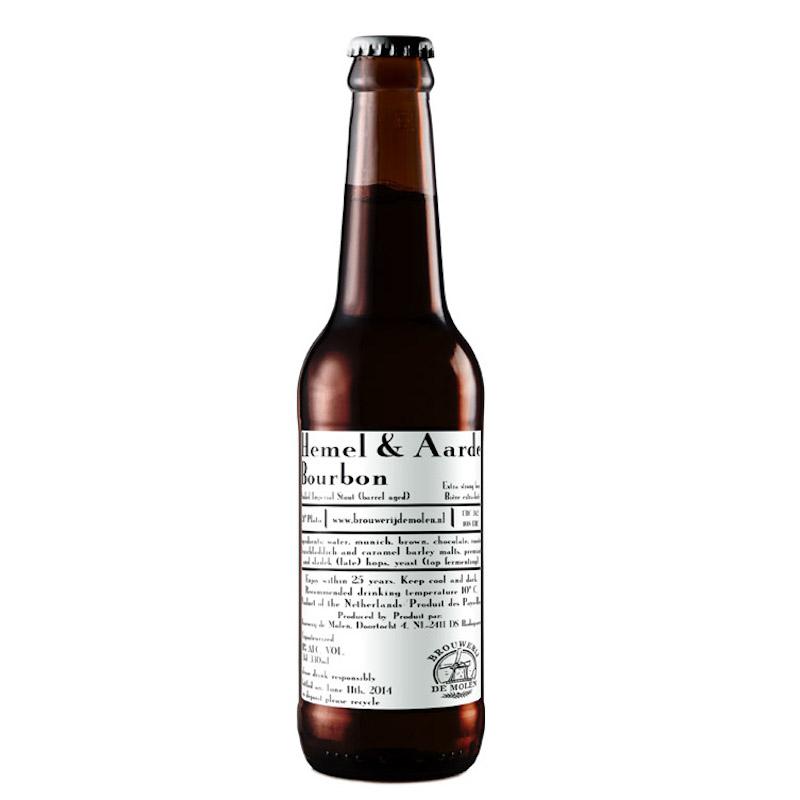 Bière Hemel and Aarde Bourbon BA - Brasserie De Molen