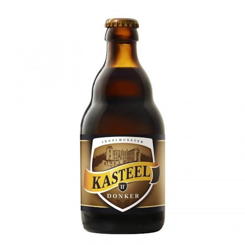 Bière Kasteel Brune - Brasserie Van Honsebrouck