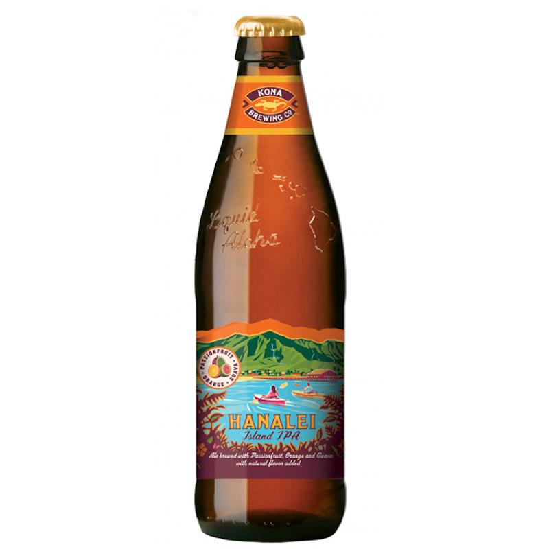 Bière Hanalei Island - Brasserie Kona