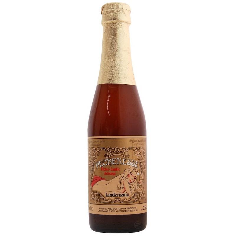 Bière Pecheresse - Brasserie Lindemans