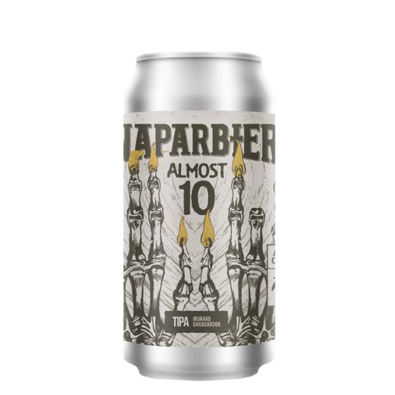 Bière Almost 10 - Brasserie Naparbier