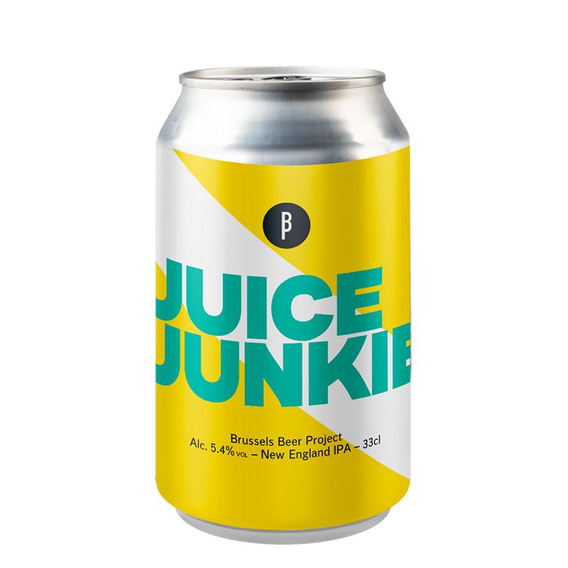 Bière Juice Junkie - Brasserie Brussels Beer Project