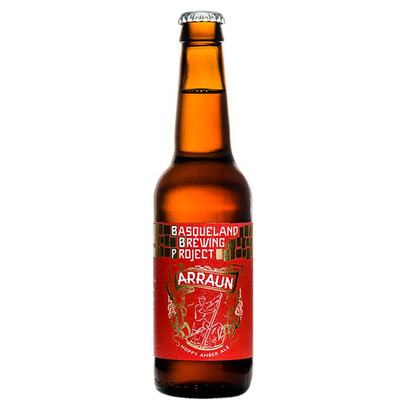 Bière Arraun Amber Ale - Brasserie Basqueland