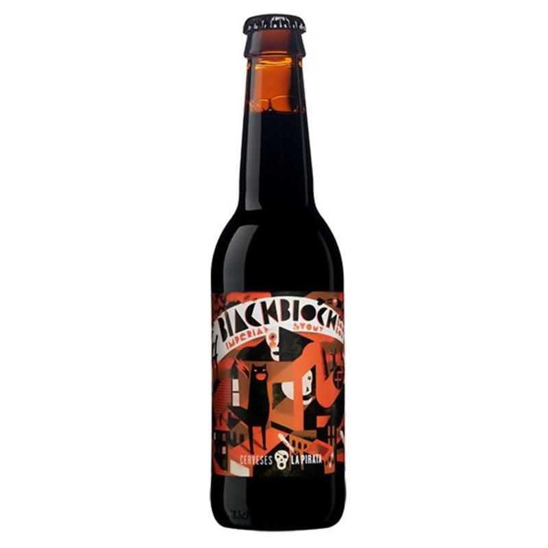 Bière Black Block - Brasserie La Pirata
