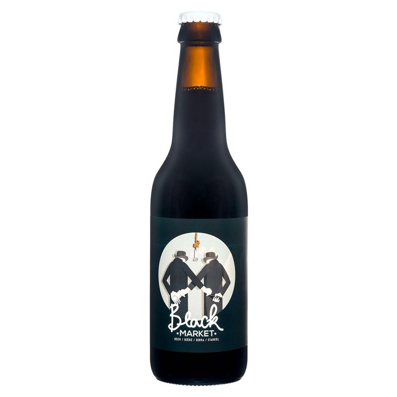 Bière Black Market - Brasserie Craig Allan