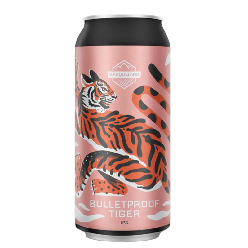 Bière Bulletproof Tiger - Brasserie Basqueland