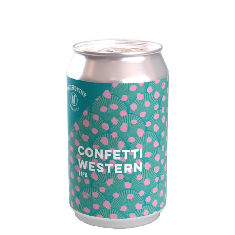 Bière Confetti Western - Brasserie White Frontier