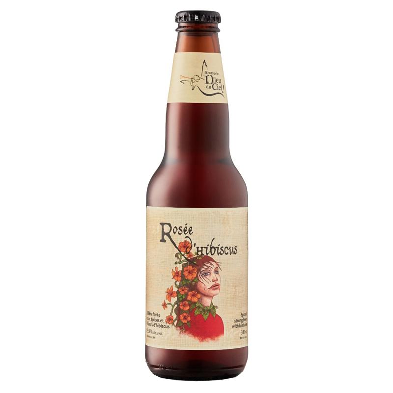 Bière Rosée d'Hibiscus - Brasserie Dieu du Ciel !