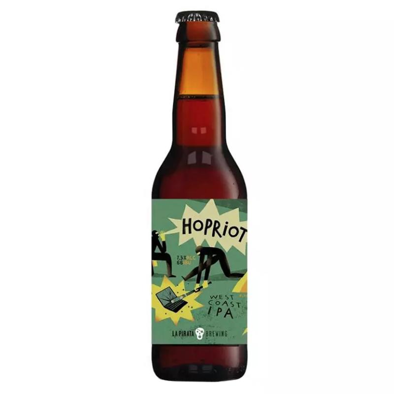 Bière Hopriot - Brasserie La Pirata