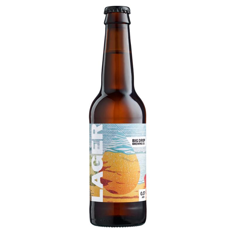 Bière Big Drop Lager - Brasserie Big Drop