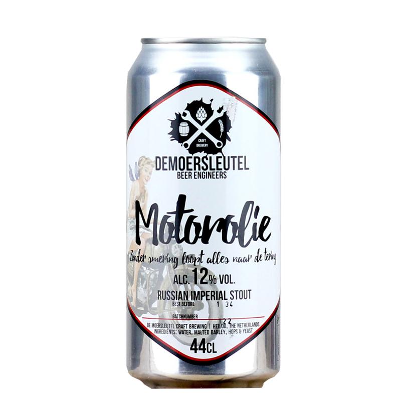 Bière Motorolie - Brasserie De Moersleutel