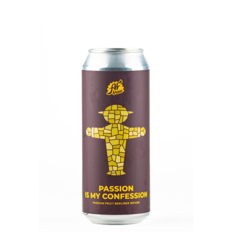 Bière Passion is My Confession - Brasserie AF Brew