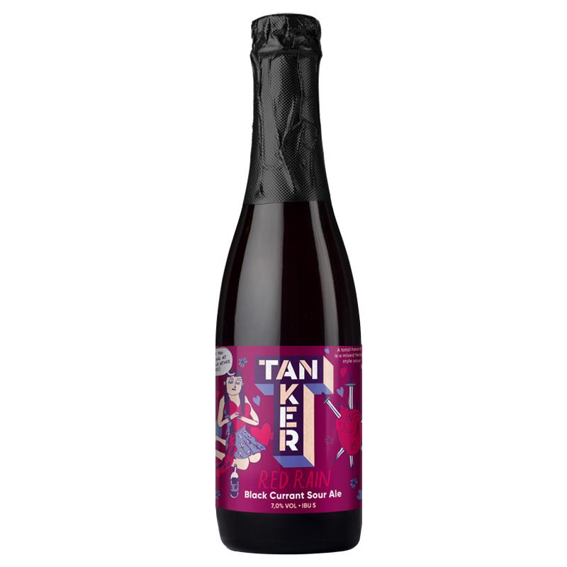 Bière Red Rain - Brasserie Tanker