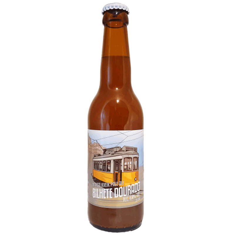 Bière Bilhete Dourado - Brasserie Grand Paris