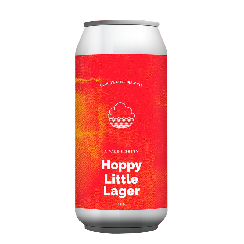 Bière Hoppy Little Lager - Brasserie Cloudwater