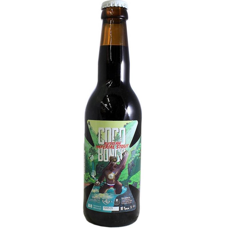 Bière Coco Bongo - Brasserie Sainte-Cru