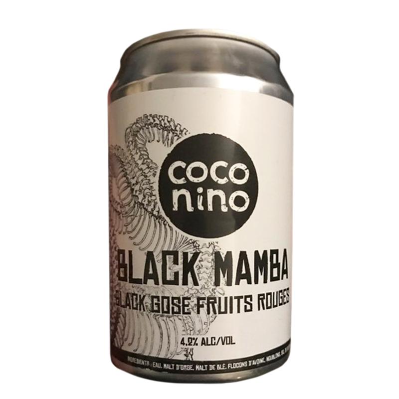 Bière Black Mamba - Brasserie Coconino