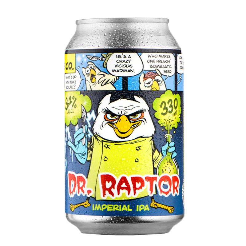 Bière Dr Raptor - Brasserie Uiltje
