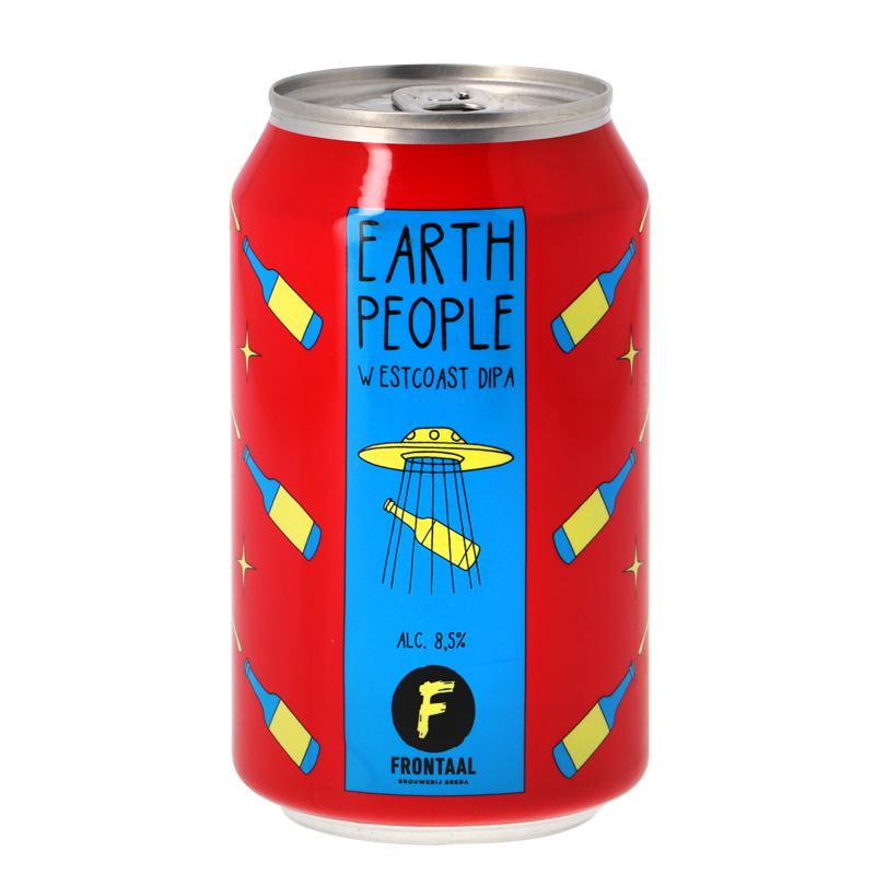 Bière Earth People - Brasserie Frontaal