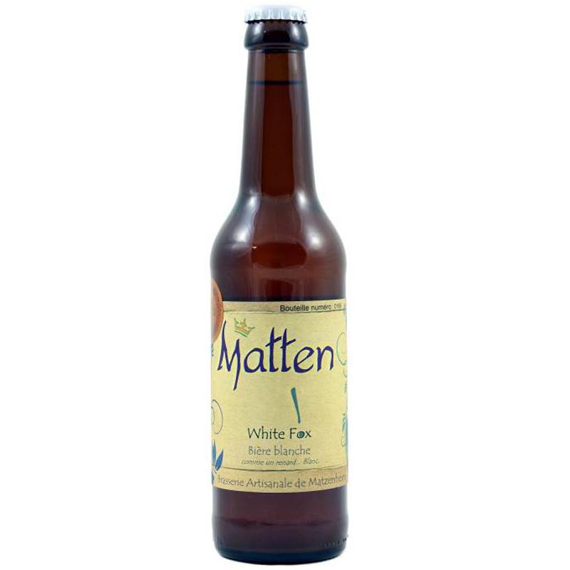 Bière White Fox - Brasserie Matten