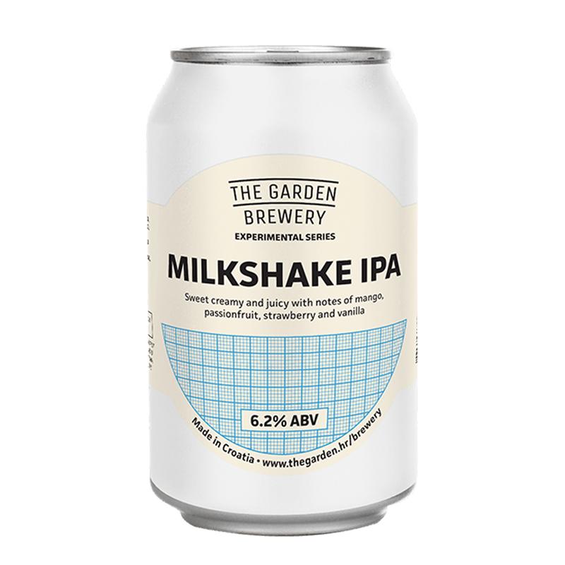 Bière Milkshake IPA - Brasserie The Garden
