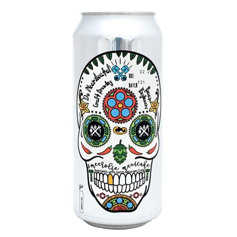 Bière Smeerolie Mexicake - Brasserie De Moersleutel