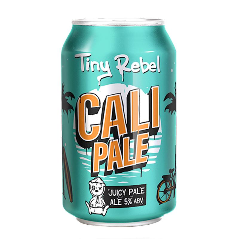 Bière Cali Pale - Brasserie Tiny Rebel