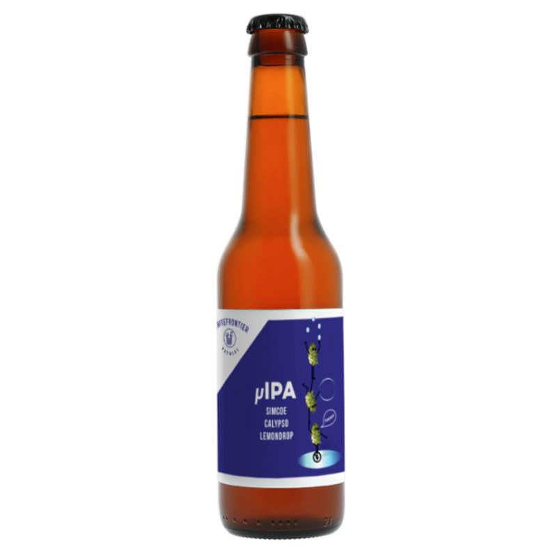 Bière µIPA Simcoe Calypso Lemondrop - Brasserie White Frontier