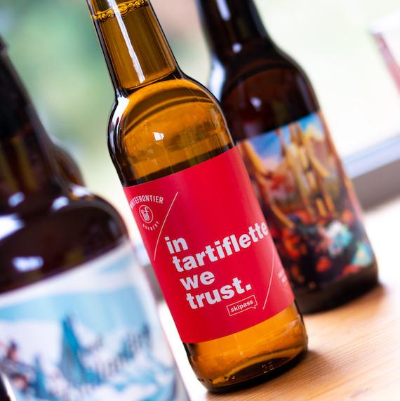 Box Bières Skipass : 11 bières de montagne + 1 verre In Tartiflette We Trust