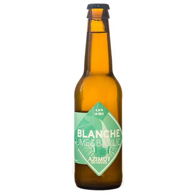 Blanche Lime Basilic - Azimut - Une Petite Mousse