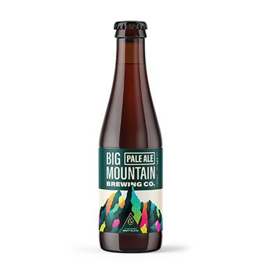 Big Mountain BLONDE - Big Mountain Brewing Company - Une Petite Mousse