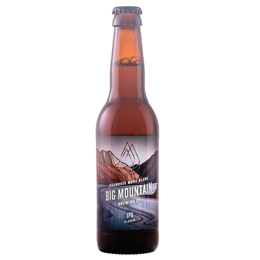 Big Mountain Chamonix IPA - Big Mountain Brewing Company - Une Petite Mousse