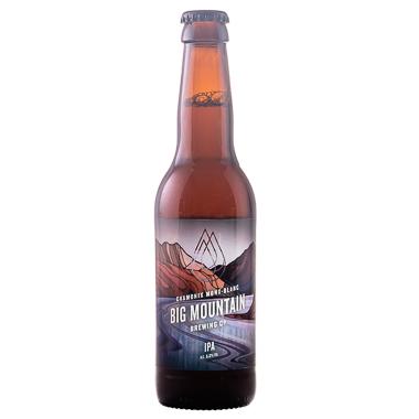 Big Mountain Chamonix IPA - Big Mountain Brewing Company - Une Petite Mousse