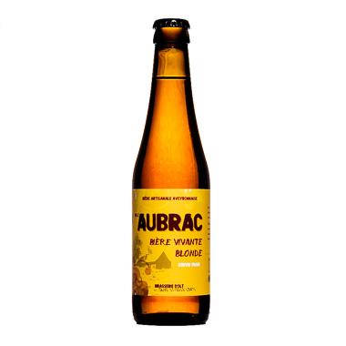 Bière de l'Aubrac Blonde - Brasserie d'Olt - Une Petite Mousse