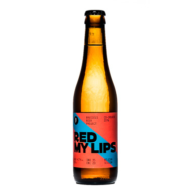 Red My Lips - Brussels Beer Project - Une Petite Mousse