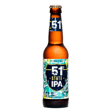 51 State - Carlow Brewing Company - Une Petite Mousse