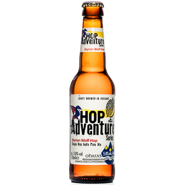 Hop Adventure Styrian Wolf - Carlow Brewing Company - Une Petite Mousse