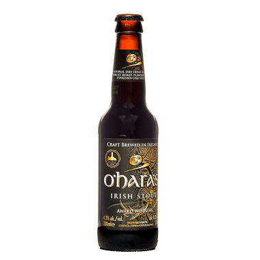 O'Hara's Irish Stout - Carlow Brewing Company - Une Petite Mousse